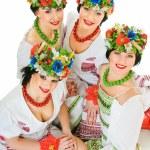Ukrainian smiles — Stock Photo