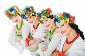 Czterech tancerzy ukraiński — Zdjęcie stockowe