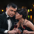 Stock Photo: Couple with wine