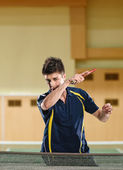 Tennis-player — Stockfoto