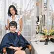 In hairdressing saloon — Stock Photo #23686295