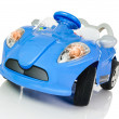 Accumulator vehicle for children — Stock Photo