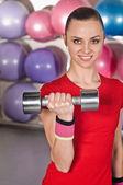 Fitness mulher — Fotografia Stock
