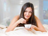 Morning cup — Stock Photo