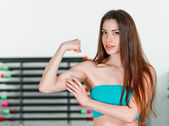 Strong beauty — Stock Photo