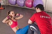 Exercise for abdominal — ストック写真