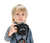 Young photography — Stock Photo