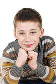 Happy schoolboy — Foto de Stock