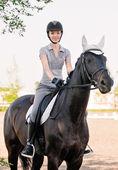 Paardrijden — Stockfoto