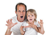 Father an son — Stock Photo