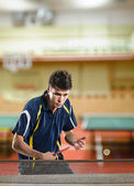 Tennis-player — Stockfoto