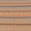 Coils of copper wire background — Stock Photo
