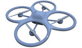 Quadrocopter — Stock Photo