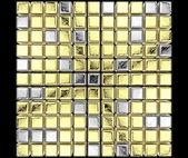 Gouden kubussen — Stockfoto