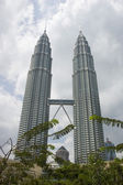 Petronas skyscrapers. Kuala-Lumpur, Malaysia — Стоковое фото
