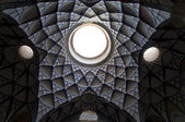 Ceiling of Borujerdis House in Kashan, Iran — Stock Photo