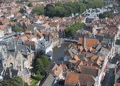 Historical center of Brugge, Belgium — Stock Photo