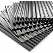 Stock Photo: Corrugated sheets