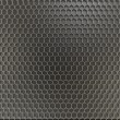 Metal honeycomb background — Stock Photo