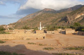 Traditional village in Socotra island, Yemen — Stock Photo