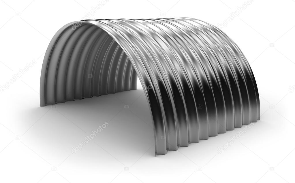 Lamiere ondulate curve