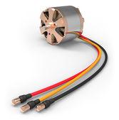 Электродвигатель для rc модели — Стоковое фото