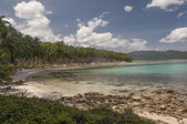 Beach. Port Barton, Palawan, Philippines — Stock Photo