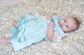 Güzel küçük bir kız elbise — Stok fotoğraf