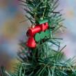 Decorated Christmas tree. — Stock Photo