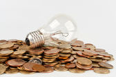 Incandescent lamp — Stock Photo