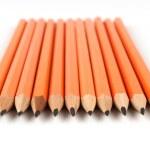 Yellow pencils — Stock Photo