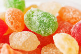 Sugar candies in different colors — Stock Photo