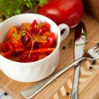 Lecho which is Hungarithick vegetable stew — Stock Photo #25600069