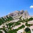 Montserrat is mountain near Barcelona — Stock Photo #37727157