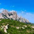 Montserrat is mountain near Barcelona — Stock Photo #37803395