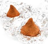 Шоколадные трюфели — Стоковое фото