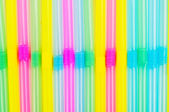 Drinking straws background — Стоковое фото