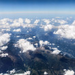 View of the Alps from the plane. — Stock Photo #42569147