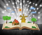 Kitap fantezi hikayeleri — Stok fotoğraf