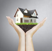 House model house concept — Stock Photo
