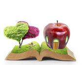 Abra el libro de la naturaleza — Foto de Stock