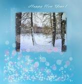 Card for christmas — Stock Photo