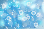 Christmas snowflakes background — Stock Photo