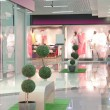 Pink mall interior — Stock Photo