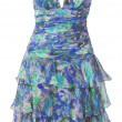 Foto de Stock  : Blue sundress