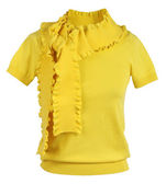 Yellow blouse — Foto Stock