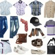 Male clothes collection — Stock Photo #17342255