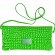 Green female bag - Stock Photo