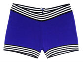 Blue swimming trunks — Stock Photo