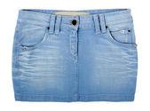 Jeans skirt — Stock Photo